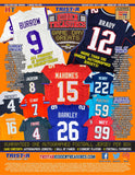 #1 - Tri Star Hidden Treasures AUTOGRAPHED Football Jersey SINGLE BOX (11/27 Break)