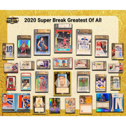 #2 - Super Break Greatest of ALL TIME Random Player Case Break