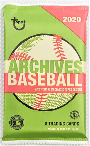 2020 Topps Archives Hobby Pack (PERSONAL BREAK) **READ BELOW**