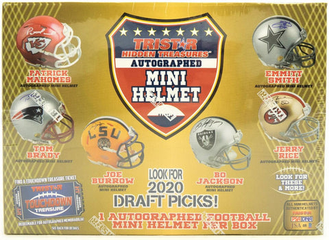 #1 - Tristar Signed Mini Helmet Case Break (10/29 Break)