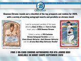#3 - 2020 Bowman Jumbo Single Box PYT Break (5/26 with Noah)