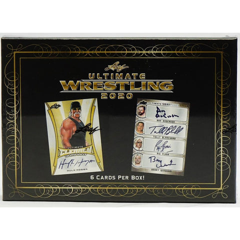 2020 Leaf Ultimate Wrestling Hobby Box (PERSONAL BREAK) **READ BELOW**