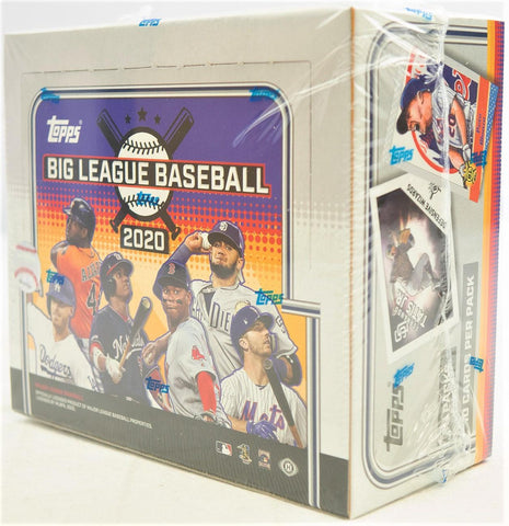 2020 Big League Baseball Hobby Box(PERSONAL BREAK) **READ BELOW**