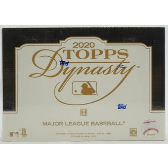 2020 Topps Dynasty Baseball Hobby Box (PERSONAL BREAK) **READ BELOW**