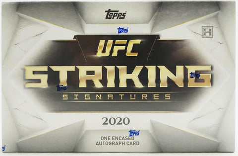 2020 Topps Striking Signatures Hobby Box (PERSONAL BREAK) **READ BELOW**