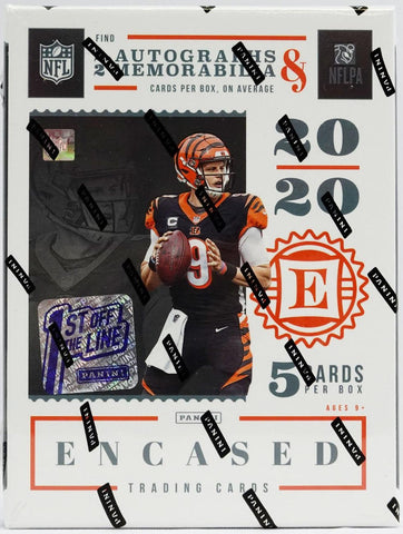 #2 - Encased NFL 1st Off The Line (FOTL) 2 Box PYT (5/2 Break)