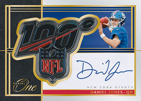 #6 - Panini One NFL RANDOM TEAM 10-BOX INNER CASE BREAK (3/8 Break)