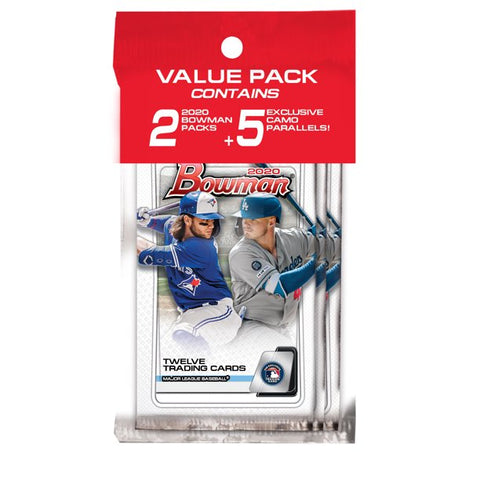 2020 Bowman Baseball Value Pack  (PERSONAL BREAK)
