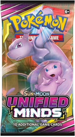 Pokemon UNIFIED MINDS SINGLE PACK (PERSONAL BREAK) **READ BELOW**