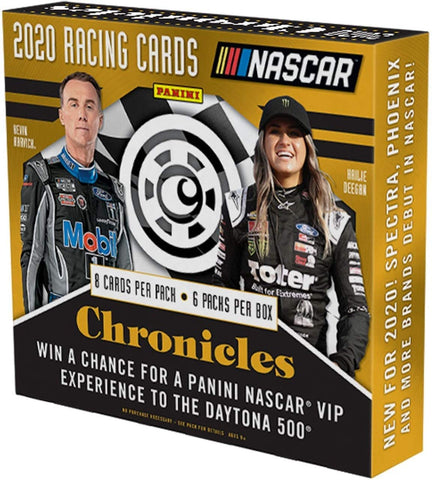2020 Chronicles NASCAR Hobby Box (PERSONAL BREAK) **READ BELOW**