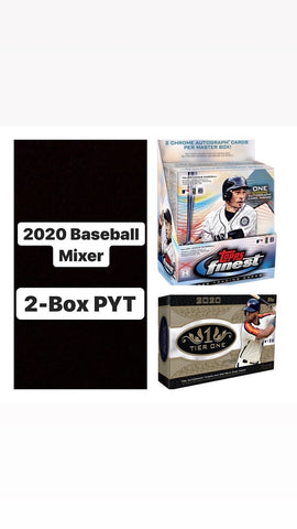 #10 - Tier One/Finest 4 Box MLB Mixer (8/5 Break)