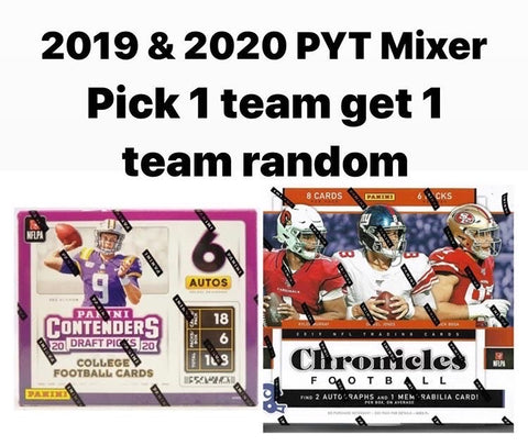 #20 - Multi Year NFL Mixer Contenders Draft & Chronicles (6/3 Break with Noah)
