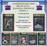 #3 -  Break King Baseball Premium Edition RANDOM PLAYER CASE BREAK
