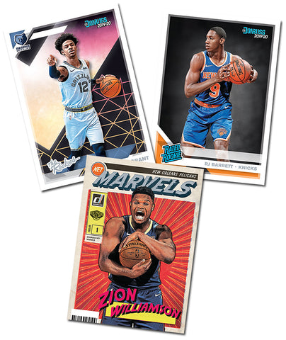 #1 - HALF CASE BREAK Donruss NBA 2019 RANDOM TEAM