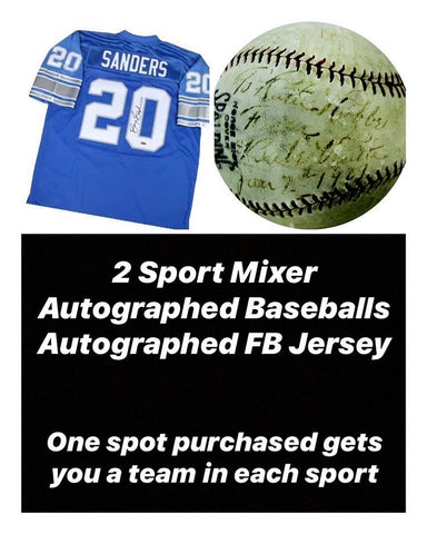 #1 - Tristar Autographed Jersey & Signed Baseball RT Break (5/27 Break with D Bo)