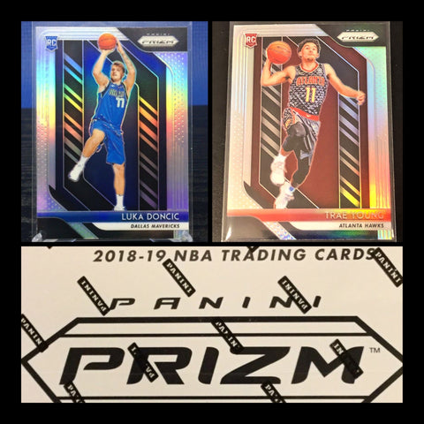 #8 - 2018-19 Prizm NBA Cello Box RT - SINGLE BOX BREAK