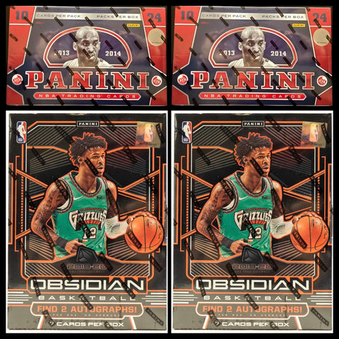 #1 - Obsidian NBA/13-14 Panini NBA 4 Box Mixer RT (4/26 Break)