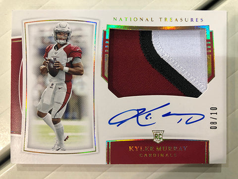 #1 - National Treasures NFL PYT 4 Box FULL CASE BREAK (3/27 Break)