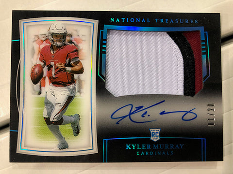 #8  - National Treasures NFL PYT 4 Box FULL CASE BREAK (3/30  Break with D Bo IG Only)