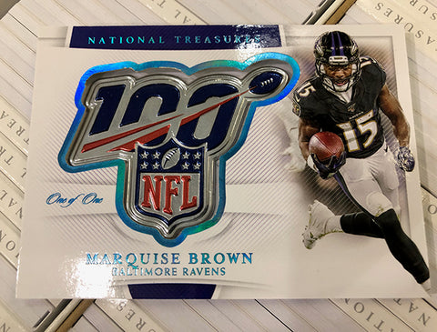 #9  - National Treasures NFL PYT 4 Box FULL CASE BREAK (3/31 Break with Ballwasher IG Only)