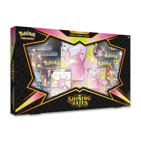 Crobat Shining Fates Premium Collection Box (PERSONAL BREAK) **READ BELOW**