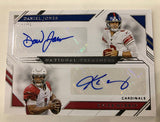 #1 - National Treasures Football  Left Side Serial Number Break (SINGLE BOX - 3/31 Break)