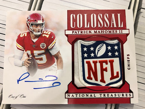 #4 - National Treasures NFL Single Box Random Serial Number Break (11/25 Break)