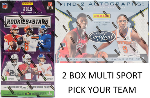 #4 - MULTI SPORT PYT BREAK - 2 BOX BREAK