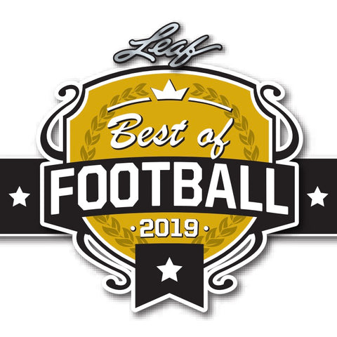 #4 - 2019 Leaf Best of Football RT SINGLE BOX  (1/9 Break)