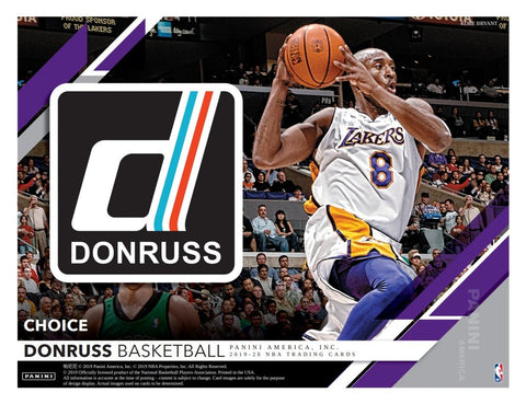 #1 - Donruss Choice RT SINGLE BOX Break (4/26 Break)