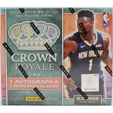 #7 - Crown Royale Basketball RT - 4 BOX BREAK