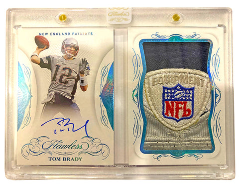 #1 - Flawless NFL LEFT SIDE SERIAL NUMBER BREAK — Single Briefcase (4/8 Break)