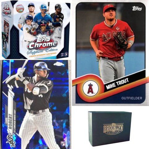 #1 - Topps Chrome Sapphire & Brooklyn Collection 2 Box Mixer RT (12/5 Break)