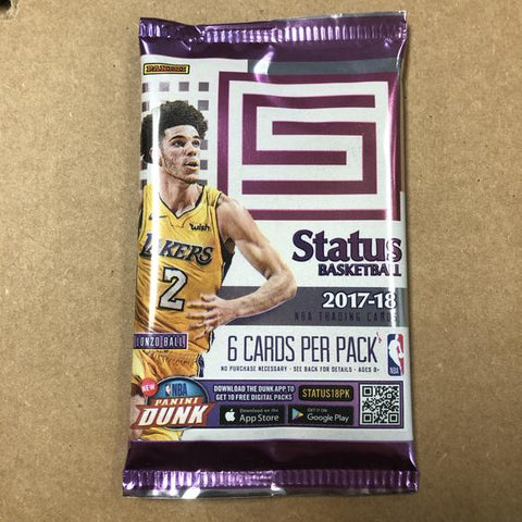 2017-18 Status Basketball Hobby Pack (PERSONAL BREAK) **READ BELOW**