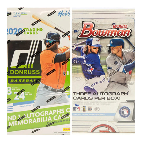 #1 - Bowman Jumbo & Donruss Hobby 12 Box Mixer PYT (12/7 Break)