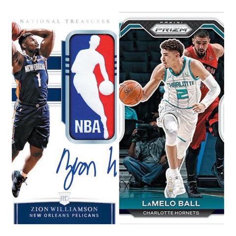 #1 - 20-21 Prizm NBA/19-20 National Treasures NBA 2 Box Tier Teams (4/9 Break)