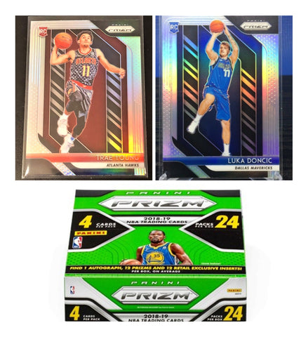 #4 - 2018  Prizm NBA Retail Box RT - SINGLE BOX BREAK