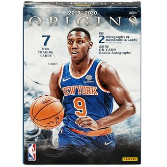 2019 Origins NBA Hobby Box (PERSONAL BREAK)