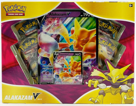 Pokemon Alakazam V Box (PERSONAL BREAK) **READ BELOW**