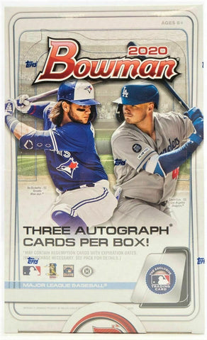 2020 Bowman JUMBO Box (PERSONAL BREAK)