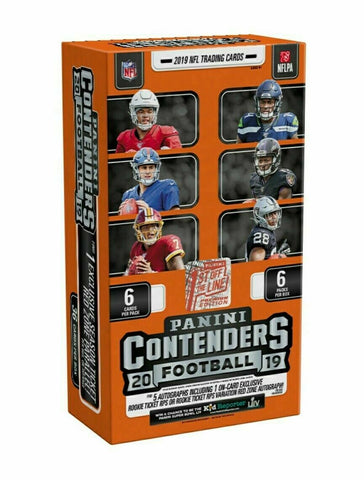 #3 - FOTL Contenders NFL Random Team Break (Single Box)