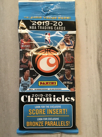 2019 Chronicles Basketball Single Cello Pack (PERSONAL BREAK) **READ BELOW**
