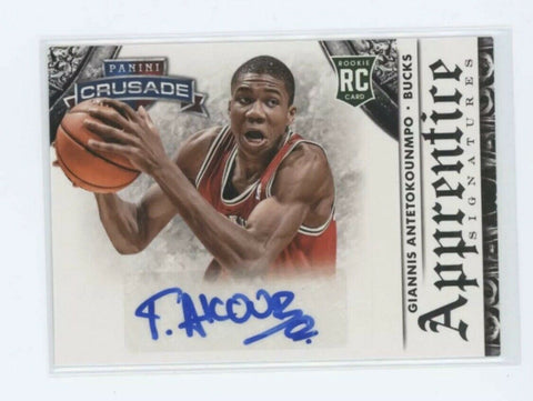#1 - 2013/14 Panini Crusade NBA Single Box RT (GIANNIS ROOKIE AUTOS)