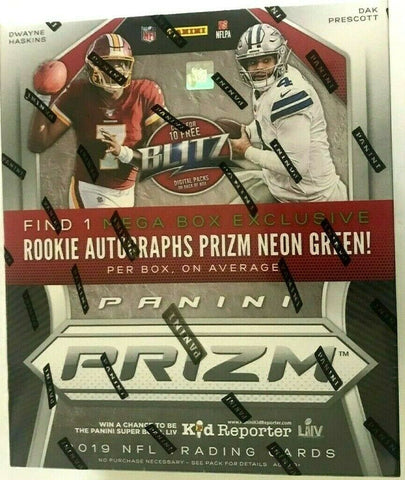#6 - Prizm Retail MEGA BOX CASE BREAK