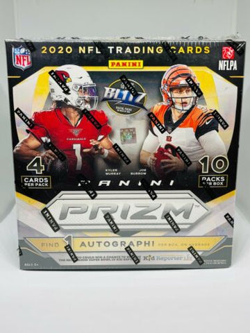 #3 - Prizm NFL Mega Box (Walmart) Two Box Random Team Break (1/18 Break)