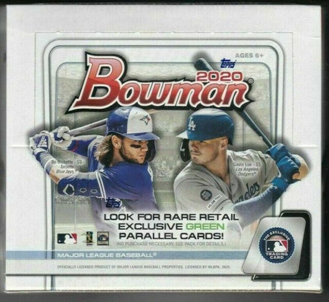 2020 Bowman Retail 24 Pack Box (PERSONAL BREAK)