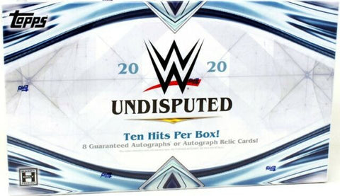 2020 WWE Undisputed Hobby Box (PERSONAL BREAK) **READ BELOW**