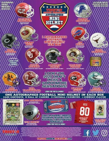 #2 - Tristar Hidden Treasures Mini Helmet 5 Box 2 RT (11/23 Break)