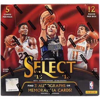 2018-19 Select NBA Hobby Box (PERSONAL BREAK)