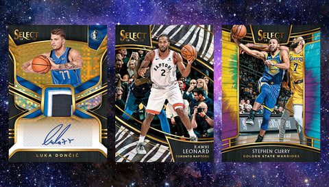 #1 - 2018-19 Select NBA RT SINGLE BOX BREAK (4/8 Break with D Bo on IG Live)